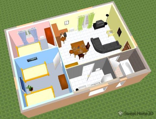 Sweet home 3d galerie for Programma in 3d per arredare casa gratis