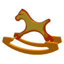 Rocking horse by Sangio