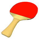 Table tennis bat by BrunoMatheus