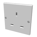 Wall socket by Jay-Artist