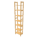 Pinewood rack full height half width by Dingenskirchen