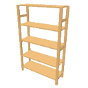Pinewood rack medium height by Dingenskirchen