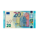 Bill 20€ by Scopia