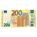 Bill 200€ by Scopia