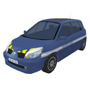 Gendarmerie car by Scopia