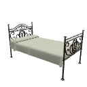 Iron bed by Scopia