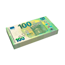 Bills 100€ by Scopia