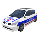 Police car by Scopia