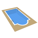 Swimming pool by Scopia